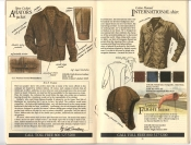 Banana Republic #20 Fall 1984 Open Cockpit Aviator's Jacket, International Shirt, Flight Helmet
