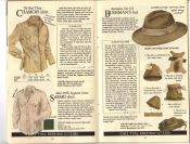 Banana Republic #20 Fall 1984 Chamois Shirt, Safari Shirt, Australian Fur Felt Bushman's Hat,