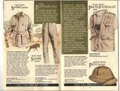 Banana Republic #20 Fall 1984 Safari Jacket, Photojournalist\'s Vest, Pith Helmet