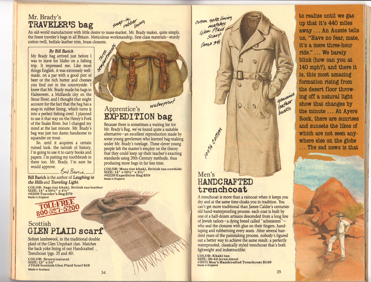 Banana Republic #25, Fall 1985