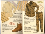 Banana Republic #25, Fall 1985 Outback Shirt, Men's Hiking Boot, Bush Jacket, Bush Pants