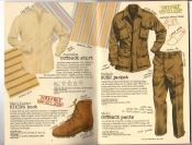 Banana Republic #25, Fall 1985 Outback Shirt, Men\'s Hiking Boot, Bush Jacket, Bush Pants