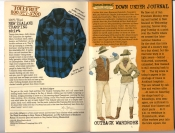 Banana Republic #25, Fall 1985 Introduction, Outback Wardrobe, New Zealand Tramping Shirt, John Lithgow