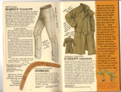 Banana Republic #25, Fall 1985 Moleskin Trousers, Genuine Australian Boomerang, Bushman's Raincoat