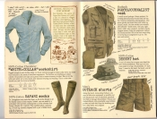 Banana Republic #25, Fall 1985 White Collar Workshirt, Safari Socks, Photojournalist\'s Vest, Desert Hat, Outback Shorts