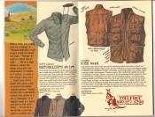 Banana Republic #25, Fall 1985 Naturalist\'s Shirt, Leather Bush Vest