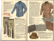 Banana Republic #25, Fall 1985 Bush Shirt, Khaki Trousers, Outside-in Shirt, Traveler's Roll-Up Hat