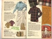 Banana Republic #25, Fall 1985 Serengeti Shirt, Serengeti Skirt, Essential Bag, Lodge Jacket