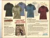 Banana Republic #25, Fall 1985 Leather Braided Belt, Walking Shorts, No-Polo Shirt