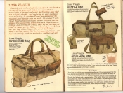 Banana Republic #25, Fall 1985 Linea Viaggio Bags