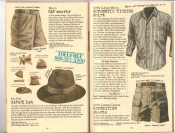 Banana Republic #25, Fall 1985 RAF Shorts, Fur Felt Safari Hat, Ticking Shirt, Expedition Shorts