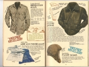 Banana Republic #25, Fall 1985 Expedition Shirt, Goatskin Flight Jacket, Army Air Forces Scarf