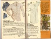 Banana Republic #25, Fall 1985 French Cafe Shirt, British Artisan\'s Nightshirt, Ed Rusha