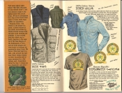 Banana Republic #26 Fall 1986 Bush Vest, Sierra Denim Shirts, Diplomatic T-Shirts