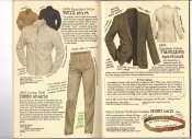 Banana Republic #26 Fall 1986 Twill Shirt, Dress Khakis, Traveler\'s Sportcoat, Money Belt