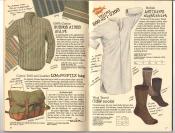 Banana Republic #26 Fall 1986 Buenos Aires Shirt, Low-Profile Bag, Artisan\'s Nightshirt, Crew Socks