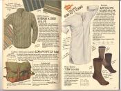 Banana Republic #26 Fall 1986 Buenos Aires Shirt, Low-Profile Bag, Artisan\'s Nightshirt, Crew Socks