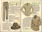 Banana Republic #26 Fall 1986 Safari Pants, Fur Felt Safari Hat, Safari Shirt, Safari Jacket
