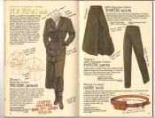 Banana Republic #26 Fall 1986 Touring Suit, Touring Skirt, Touring Pants, Women's Money Belt