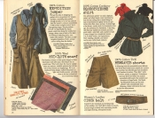Banana Republic #26 Fall 1986 Expedition Jumper, Mud Cloth Scarf, Equestrienne Shirt, Memsahib Shorts, Cinch Belt