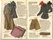 Banana Republic #26 Fall 1986 Expedition Jumper, Mud Cloth Scarf, Equestrienne Shirt, Memsahib Shorts, Cinch Belt