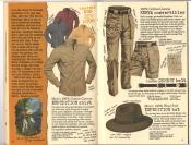 Banana Republic #26 Fall 1986 Expedition Shirt, Kenya Convertibles, Expedition Hat