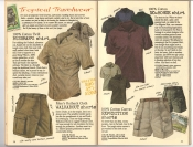 Banana Republic #26 Fall 1986 Bushman's Shirt, Walkabout Shorts, No-Horse Shirt, Expedition Shorts
