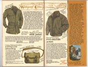 Banana Republic #26 Fall 1986 Waterproof Cotton Jacket, Australian Schoolbag, Foul-Weather Jacket