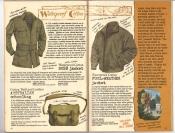 Banana Republic #26 Fall 1986 Waterproof Cotton Jacket, Australian Schoolbag, Foul-Weather Jacket