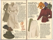 Banana Republic #26 Fall 1986 Correspondent\'s Dress, Wool Felt Fedora, Merikani Shirt, Six-Gore Skirt
