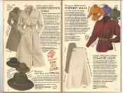 Banana Republic #26 Fall 1986 Correspondent\'s Dress, Wool Felt Fedora, Merikani Shirt, Six-Gore Skirt