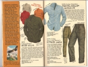 Banana Republic #26 Fall 1986 Andes Shirt, White-Collar Workshirt, Outback Pants
