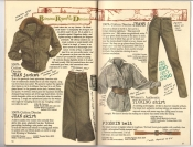 Banana Republic #26 Fall 1986 Jean Jacket, Jean Skirt, Jeans, Women's Ticking Shirt, Pigskin Belt