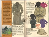 Banana Republic #26 Fall 1986 Traveler\'s Raincoat, Bombay Shirt, Pith Helmet