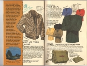 Banana Republic #26 Fall 1986 Army Air Corps Jacket, Yukon Shirt, Israeli Paratrooper Briefcase