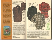 Banana Republic #26 Fall 1986 Leather Bush Vest, Tartan Shirt