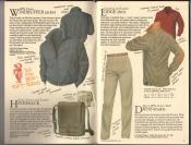 Banana Republic  Catalog #33 Fall 1987 Windbuffer Jacket, Haversack, Lodge Shirt, Dress Khakis