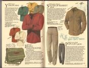 Banana Republic  Catalog #33 Fall 1987 Yukon Shirt, Israeli Paratrooper Briefcase, South of Market Shirt, Populist Pants