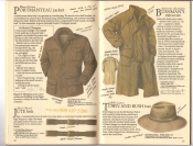 Banana Republic  Catalog #33 Fall 1987 Portmanteau Jacket, Jute Belt, Bushman\'s Raincoat, Town and Bush Hat