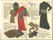 Banana Republic  Catalog #33 Fall 1987 Turtleneck Dress, Plaid Scarf, Essential Skirt, Cotton Tights