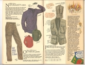 Banana Republic  Catalog #33 Fall 1987 Naturalist\'s Shirt, Outback Pants, Photojournalist Vest
