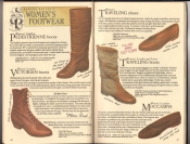 Banana Republic  Catalog #33 Fall 1987 Pedestrienne Boots, Victorian Boots, Traveling Shoes, Traveling Boots, Moccasins,