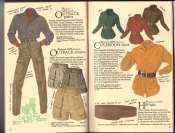 Banana Republic  Catalog #33 Fall 1987 Women\'s Outback Pants, Women\'s Outback Shorts, Coleroon Shirt, Hip Belt