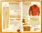 Banana Republic Catalog #35 Classic Trousers, Crossroads Belt, All-Weather Sweater, Australian Schoolbag