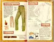 Banana Republic Catalog #35 Existential Trousers, Braided Belt, Linen Shirt, Jungle Hat