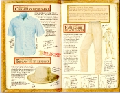 Banana Republic Catalog #35 Chambray Workshirt, Tuscan Vinter's Hat, Koh Samui Beach Pants