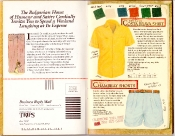 Banana Republic Catalog #35 Patrick McManus Cartoon, Costa Brava Shirt, Chambray Shorts