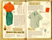 Banana Republic Catalog #35 Cardigan Sweater, Etruscan Espadrilles, Somalia Skirt