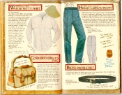 Banana Republic Catalog #35 Walter Mitty Shirt, Correspondent's Bag, Henry Lawson Pants, Brass Buckle Belt