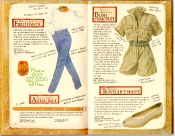 Banana Republic Catalog #35 Field Pants, Aztec Belt, Bush Jumpsuit, Traveler's Shoes